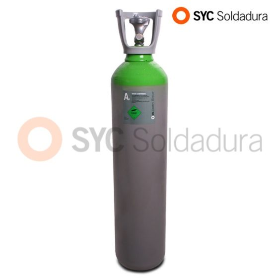 14L 178 Argon industrial cylinder high pressure green grey
