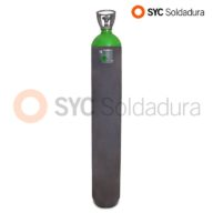 50L 230 Nitrogen industrial cylinder high pressure green grey