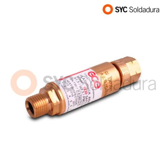 Non-Return Safety Valve for Acetylene regulator
