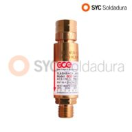 Non-Return Safety Valve for Acetylene regulator 2