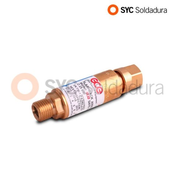 Non-Return Safety Valve for Oxygen regulator