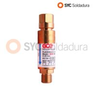 Non-Return Safety Valve for Oxygen regulator 2