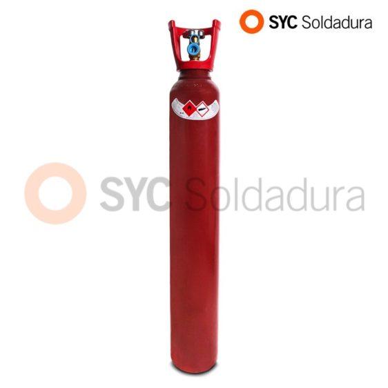 10L 140 botella cargada acetileno industrial roja