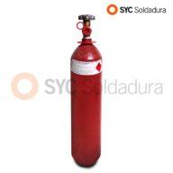 3L 116 botella acetileno roja