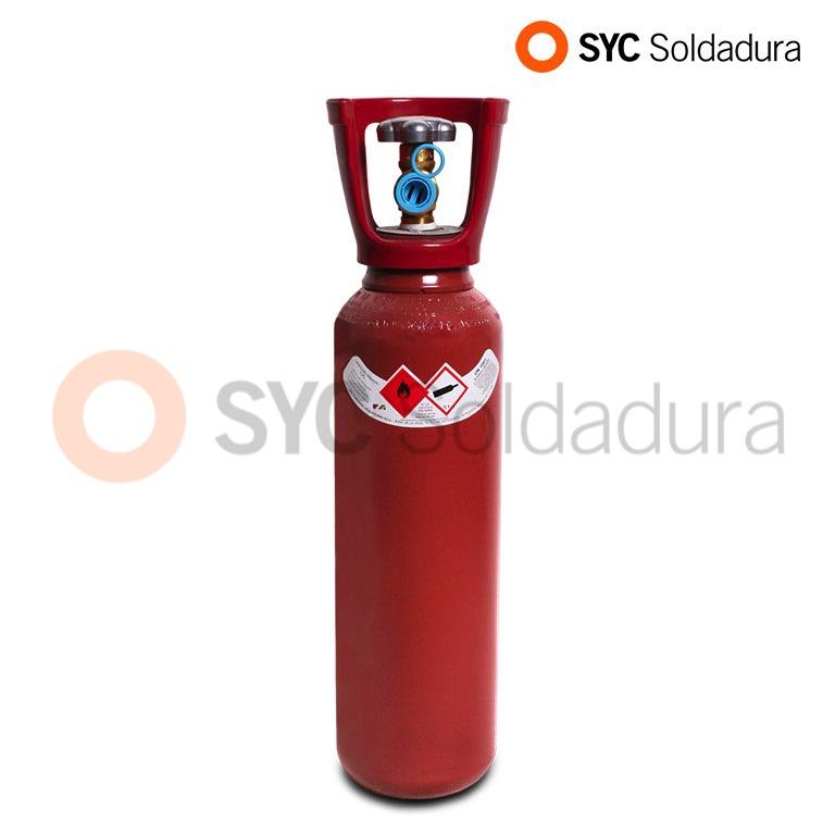 5L 140 botella acetileno industrial roja