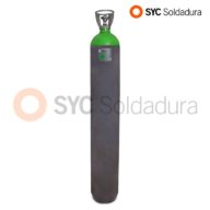 50L 230 Argon industrial cylinder high pressure green grey