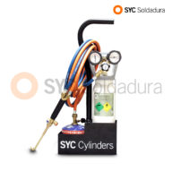 mini-syc-d equipo oxigeno butano oxygen butane equipment