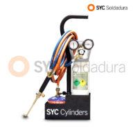 mini-syc-d equipo oxigeno butano oxygen butane equipment