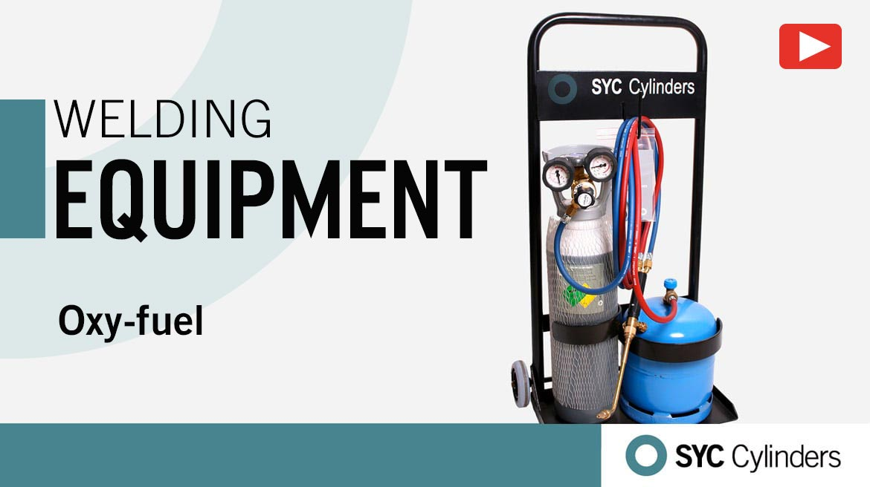 video equipment oxygen fuel pressure gas cylinders