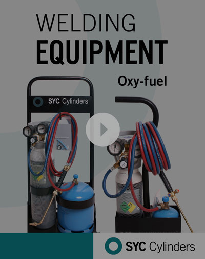 video equipment oxygen fuel pressure gas cylinders